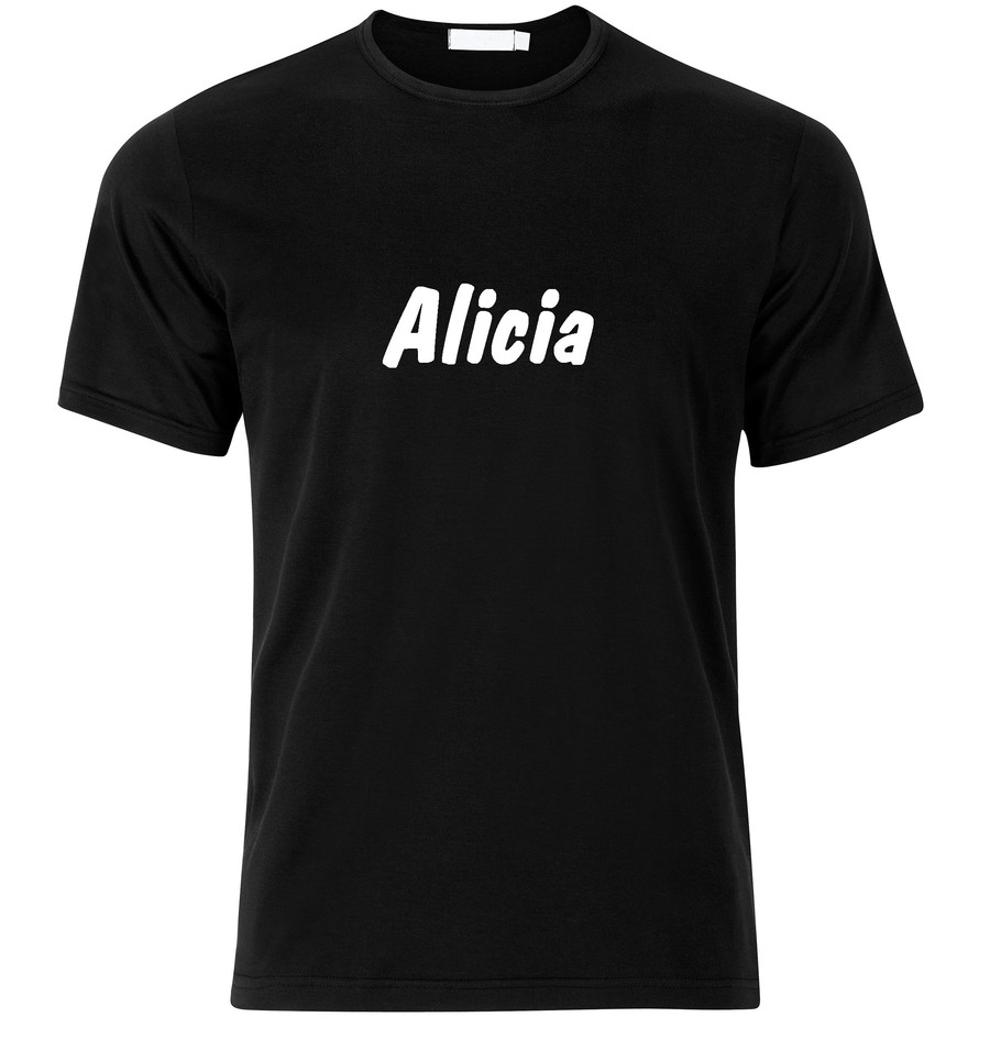 T-Shirt Alicia Namenshirt