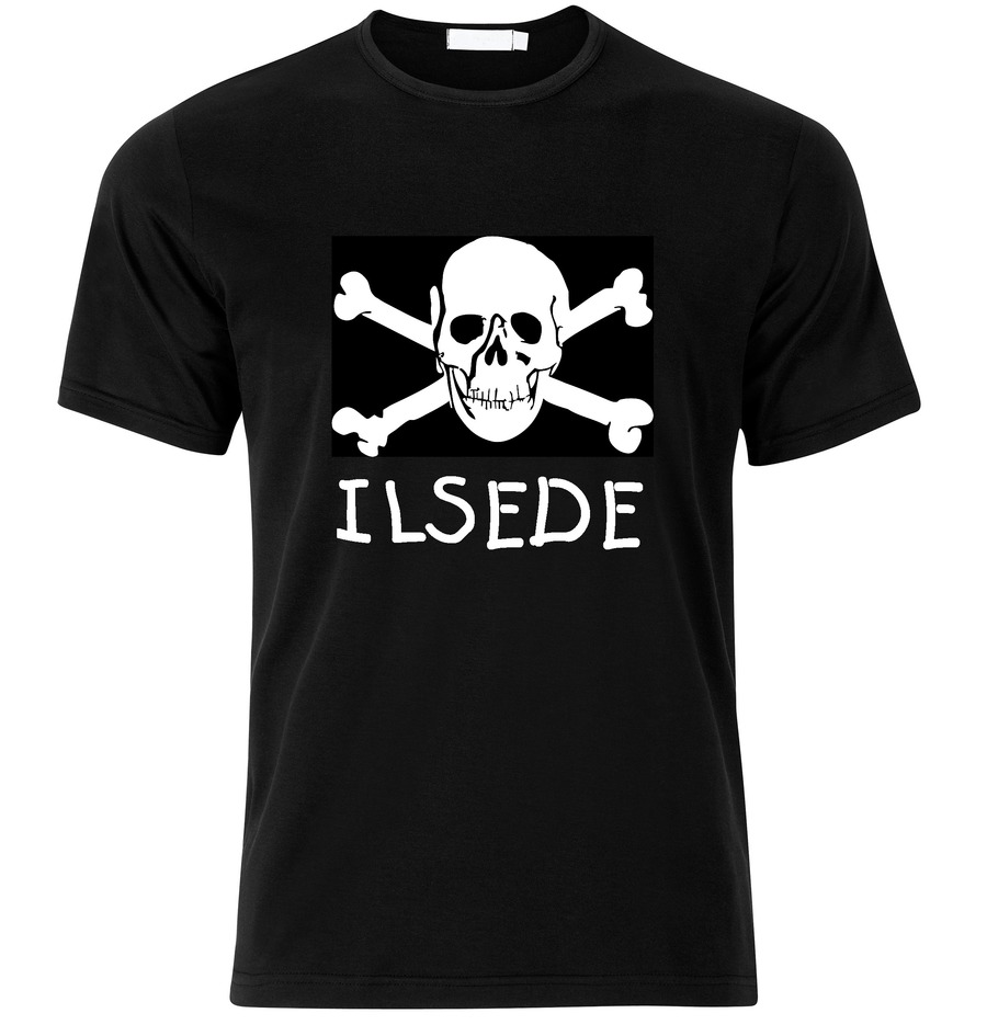 T-Shirt Ilsede Jolly Roger, Totenkopf
