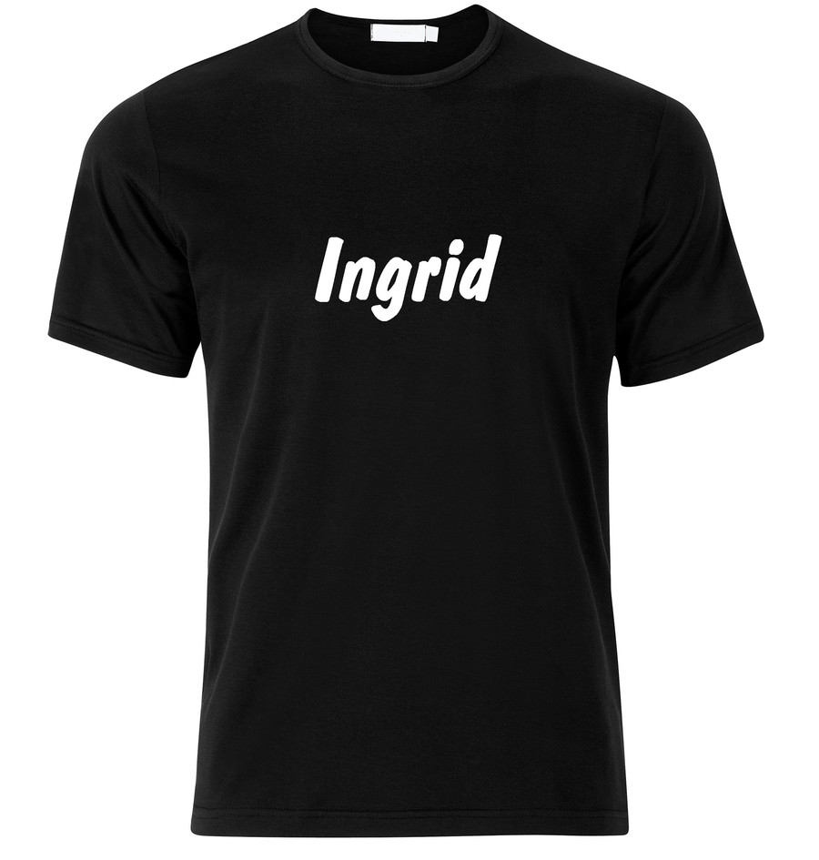 T-Shirt Ingrid Namenshirt