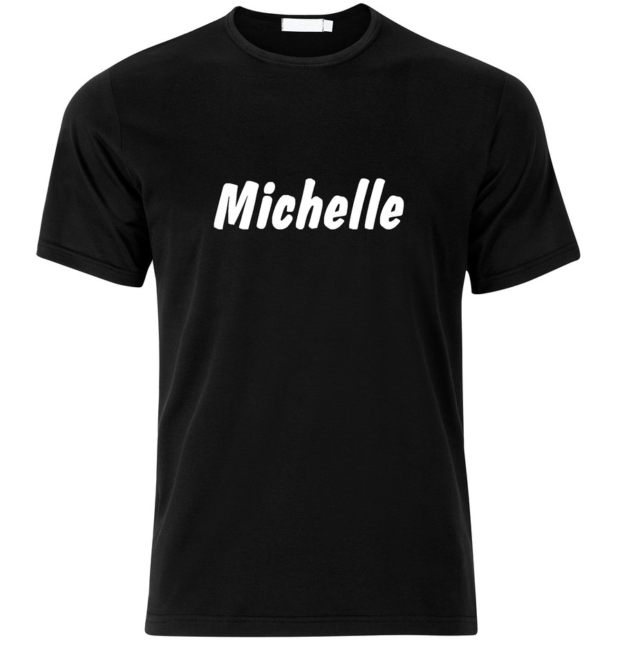 T-Shirt Michelle Namenshirt