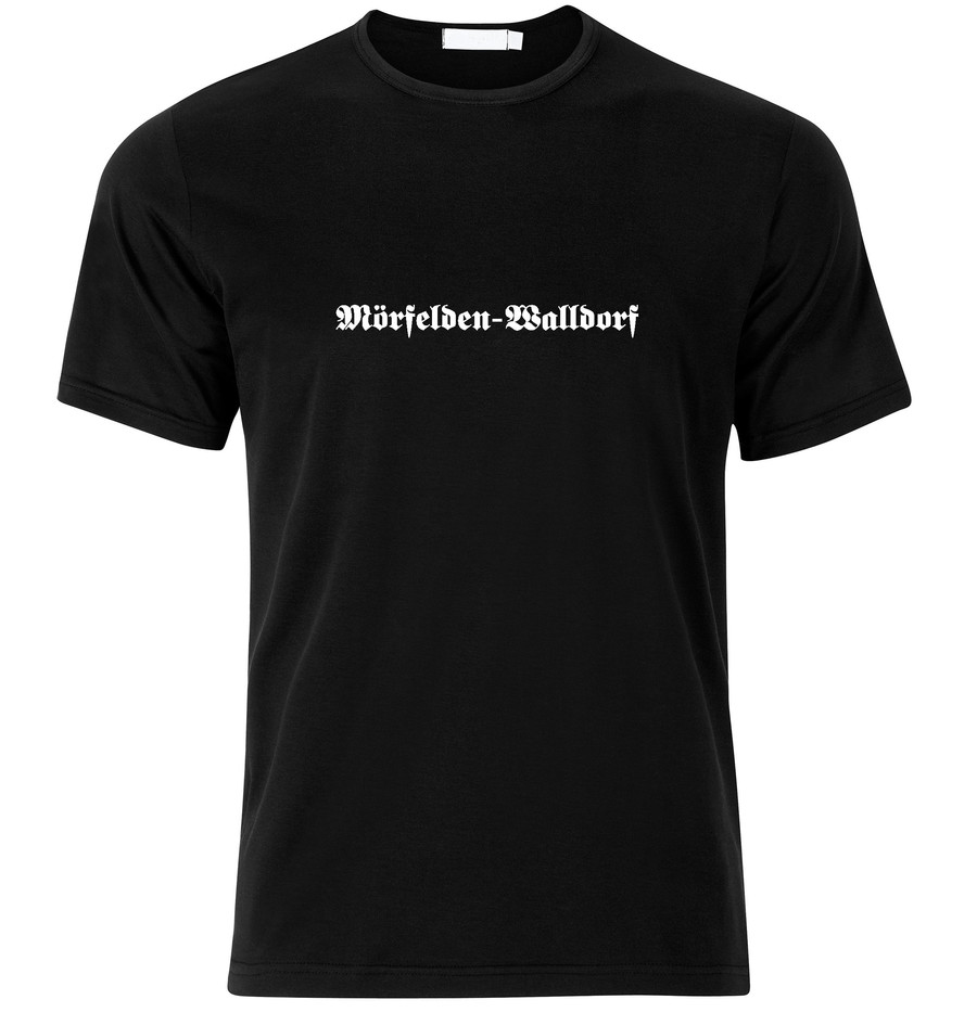 T-Shirt Mörfelden-Walldorf Fraktur