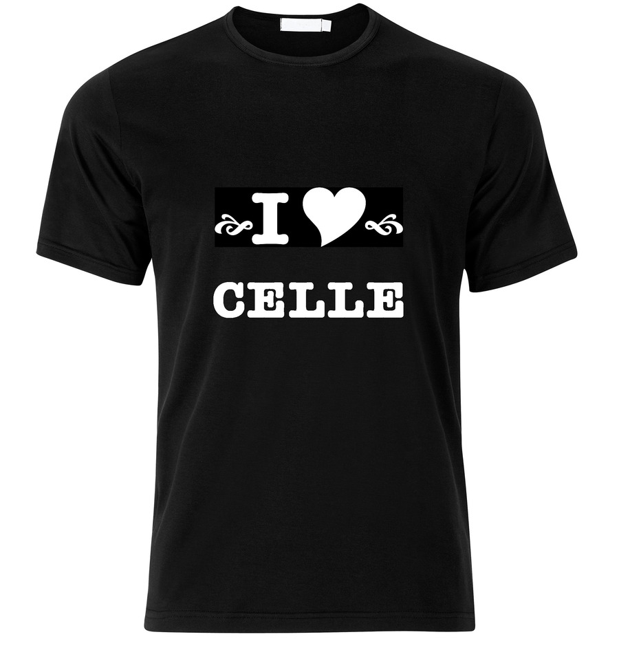 T-Shirt Celle I love