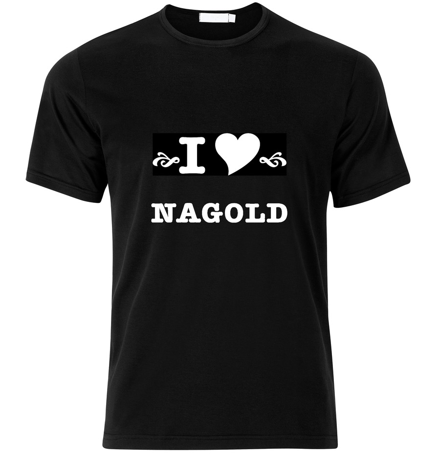 T-Shirt Nagold I love