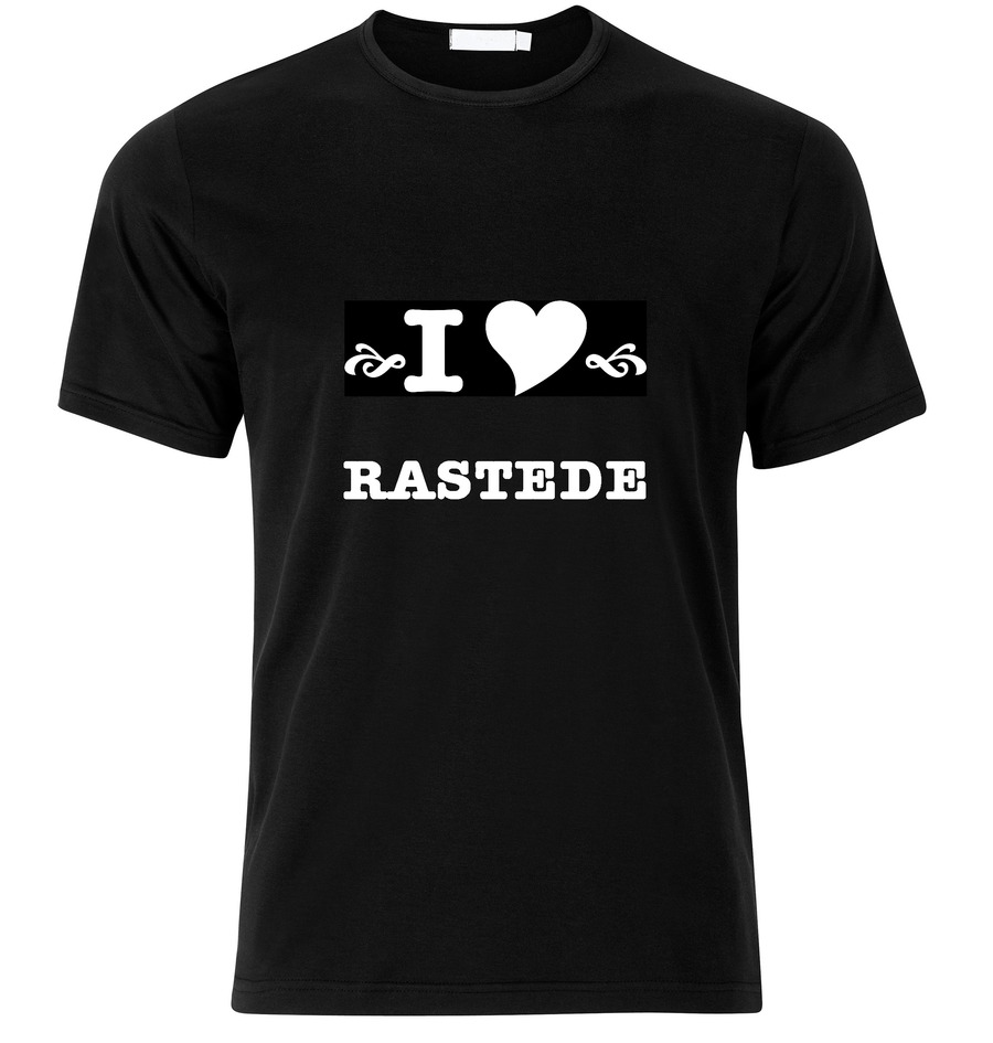 T-Shirt Rastede I love